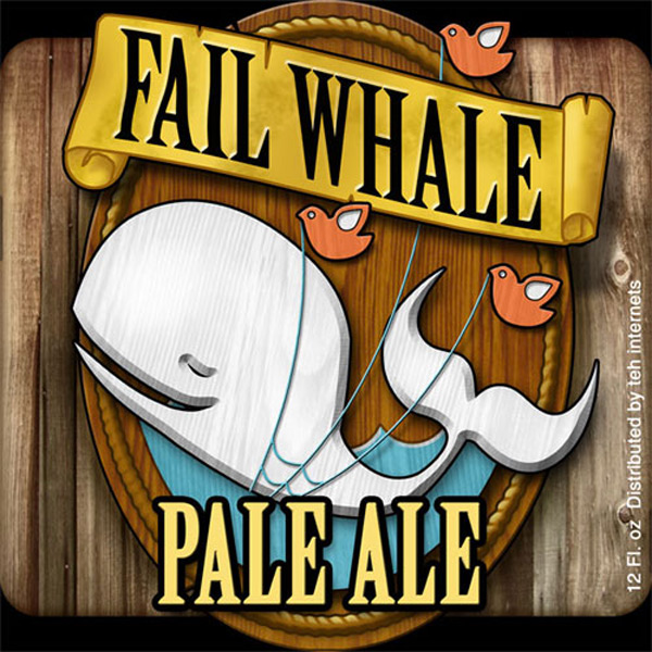 Fail Whale Pale Ale Label Contest