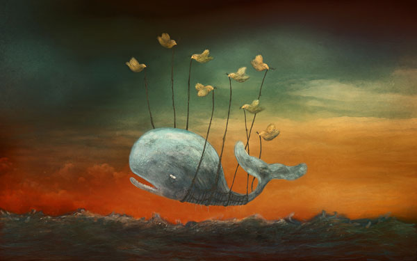painted fail whale dache